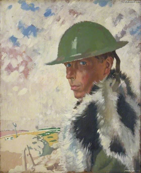 по William Newenham Montague Orpen (1878-1931, Ireland)