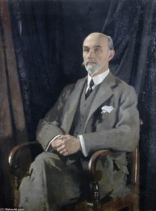 Сэр Чарльз Томас-Стэнфорд по William Newenham Montague Orpen (1878-1931, Ireland)