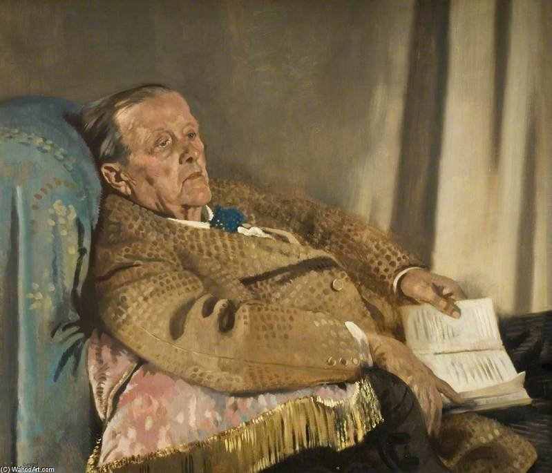 Сэр Эдвин Рэй Ланкастер по William Newenham Montague Orpen (1878-1931, Ireland)