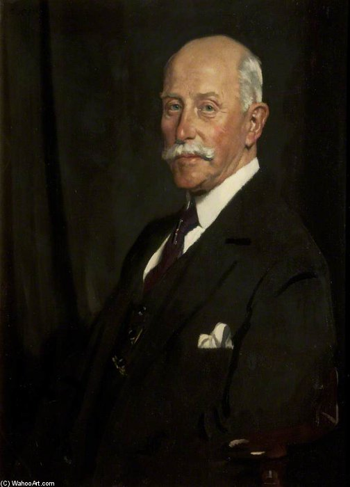 Сэр Джон Рутерфорд по William Newenham Montague Orpen (1878-1931, Ireland)