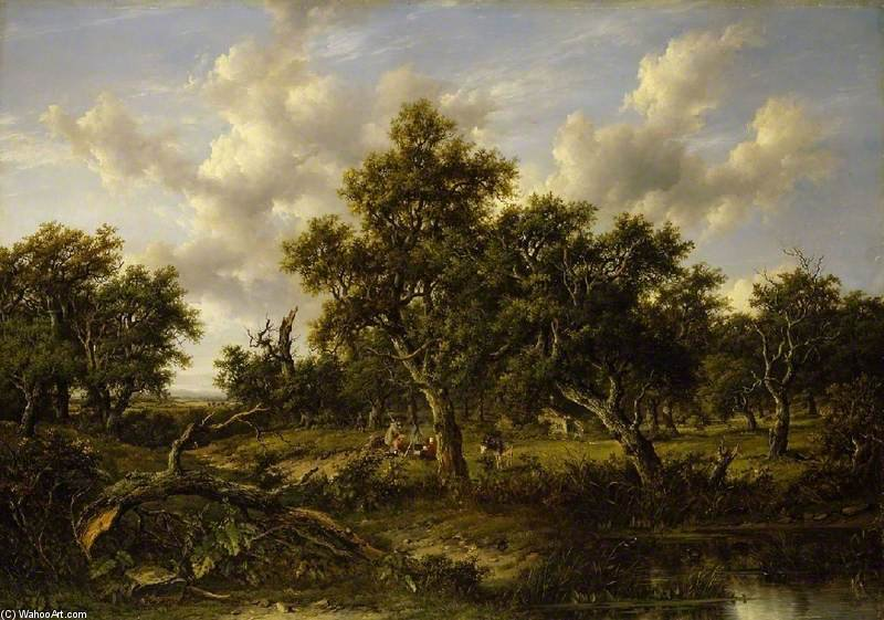 смотреть в Leigh Вудс по Patrick Nasmyth (1787-1831, United Kingdom)