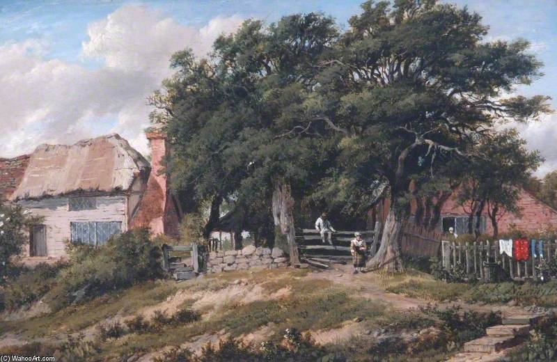 Тисы Недалеко Turner's Холм , east grinstead , Запад Сассекс по Patrick Nasmyth (1787-1831, United Kingdom)