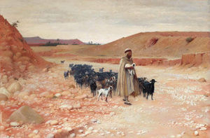 Charles James Theriat - Goatherder