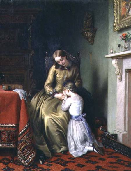 Prayertime по Charles West Cope (1811-1890, United Kingdom) | Репродукции Музея | ArtsDot.com