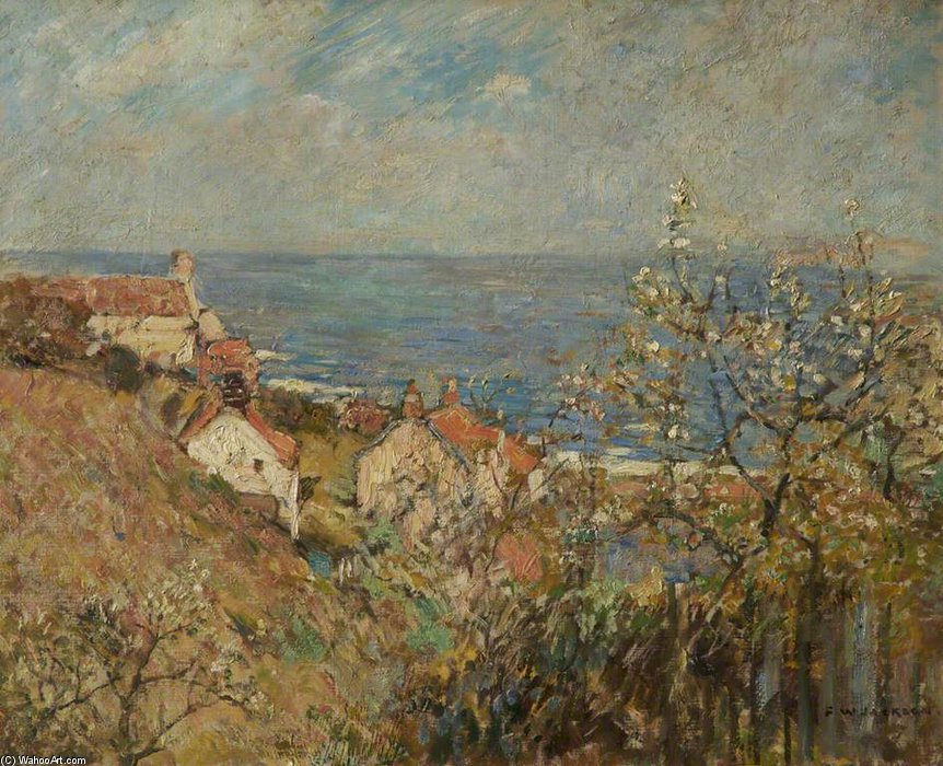 Runswick Bay по Frederick William Jackson (1843-1942, United States)