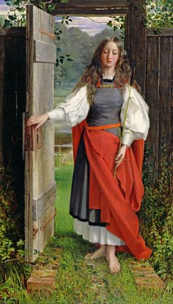 энтузиазм по George Dunlop Leslie (1835-1921, United Kingdom)