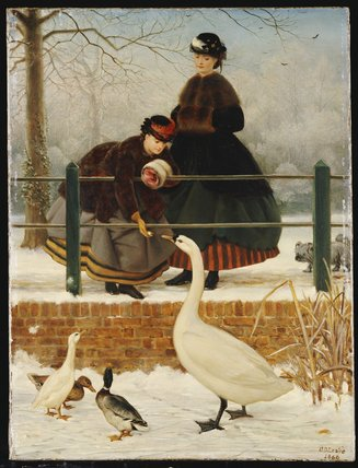 Замороженные Из по George Dunlop Leslie (1835-1921, United Kingdom)