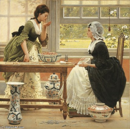 Попурри по George Dunlop Leslie (1835-1921, United Kingdom)