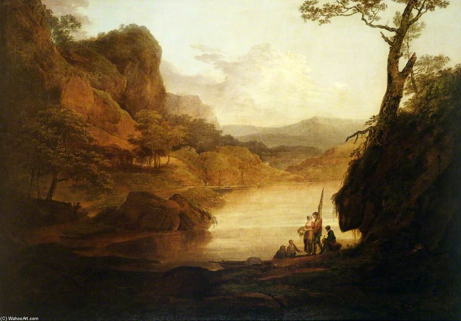 Вид на Уай по William Payne (1760-1830, United Kingdom) | ArtsDot.com