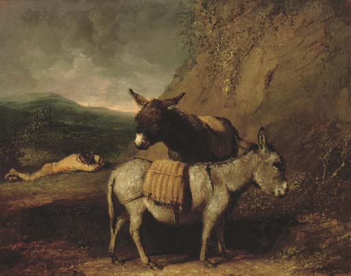 Сидр на обед по Abraham Cooper (1787-1868, United Kingdom)