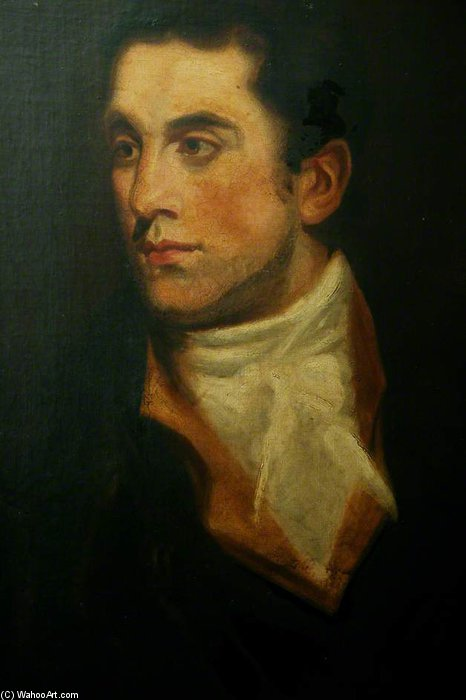 Портрет джентльмена по George Henry Harlow (1787-1819, United Kingdom)