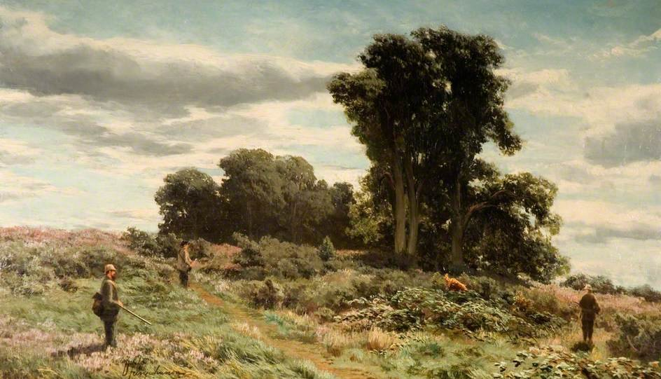 Forest Of Meikleour, Пертшире по David Farquharson (1839-1907, United Kingdom)