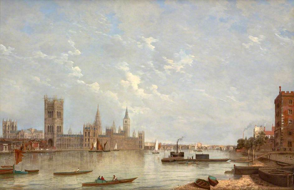 Вестминстер по Henry Pether (1828-1865, United Kingdom) | Картина Копия | ArtsDot.com