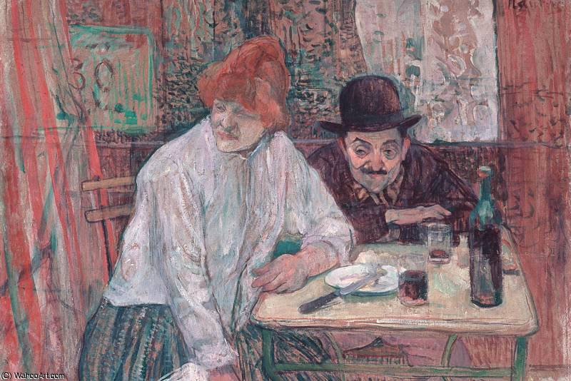 ла Ми, 1891 по Henri De Toulouse Lautrec (1864-1901, Second French Empire)