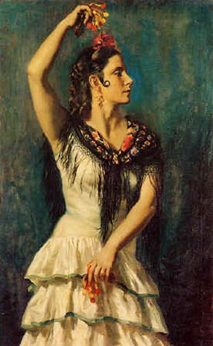 castanuelas по Jorge Apperley (George Owen Wynne Apperley) (1884-1960, United Kingdom)