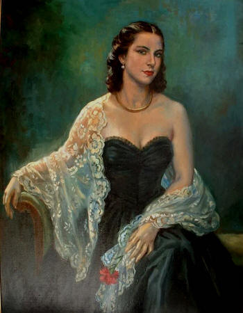 Enriqueta по Jorge Apperley (George Owen Wynne Apperley) (1884-1960, United Kingdom)