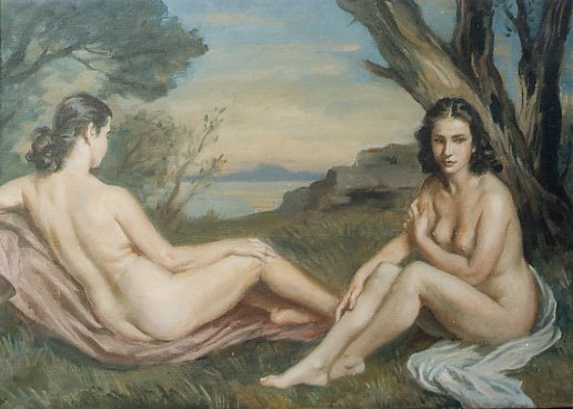Gemelas Apperley по Jorge Apperley (George Owen Wynne Apperley) (1884-1960, United Kingdom)