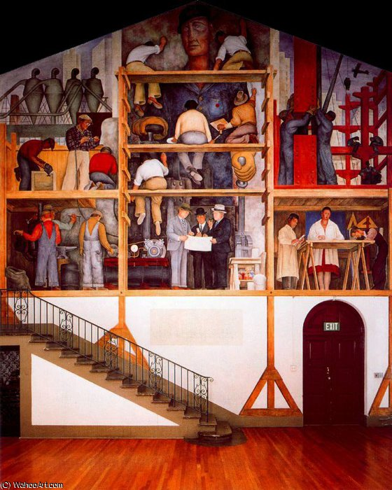 Безымянный 8049 по Diego Rivera (1886-1957, Mexico)