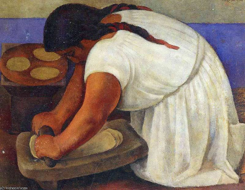 Безымянный 9666 по Diego Rivera (1886-1957, Mexico)