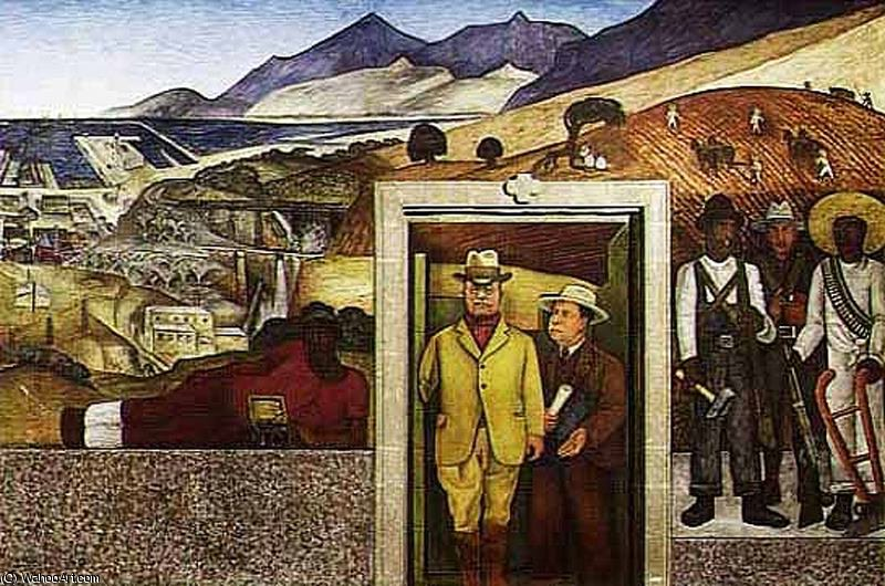 Безымянный 5629 по Diego Rivera (1886-1957, Mexico)