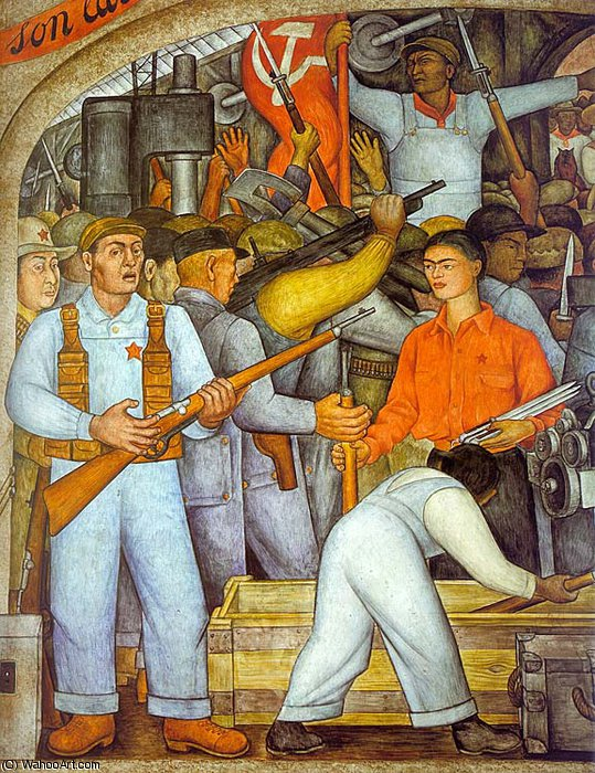 Безымянный 9657 по Diego Rivera (1886-1957, Mexico)