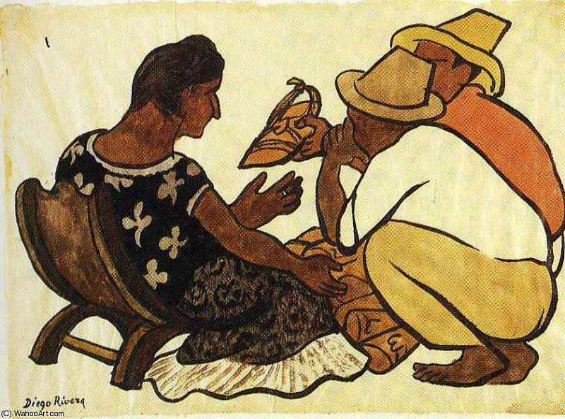Безымянный 9561 по Diego Rivera (1886-1957, Mexico)