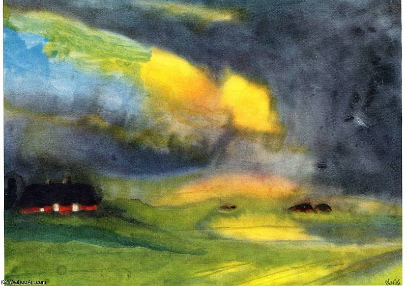 по Emile Nolde (1867-1956, Germany) | Картина Копия | ArtsDot.com