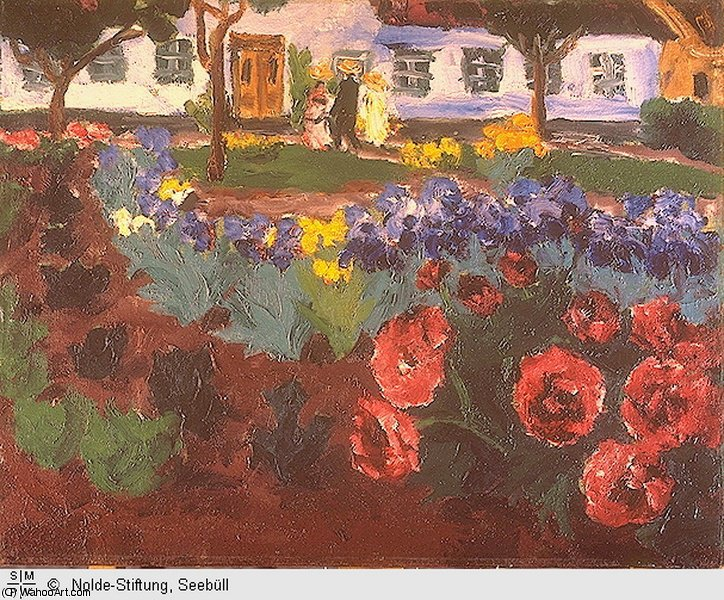 по Emile Nolde (1867-1956, Germany)