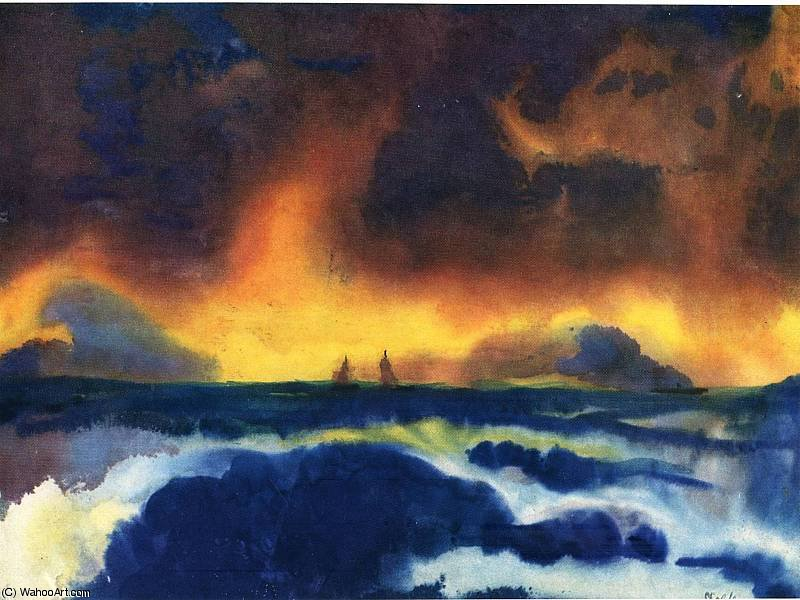 по Emile Nolde (1867-1956, Germany) | Репродукции Музея | ArtsDot.com