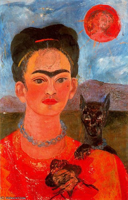 без названия 2539   по Frida Kahlo (1907-1954, Mexico)