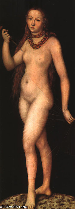Лукреция по Lucas Cranach The Elder (1472-1553, Germany)