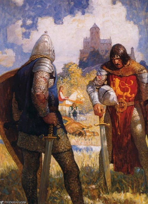 an analysis of king arthur who is a courageous character brought forth by sir thomas From le morte d'arthur sir launcelot sir thomas malory du lake prowess (proupgs) n superior skill, strength, or courage, especially in battle fidelity (fg-ddlpg-tc.