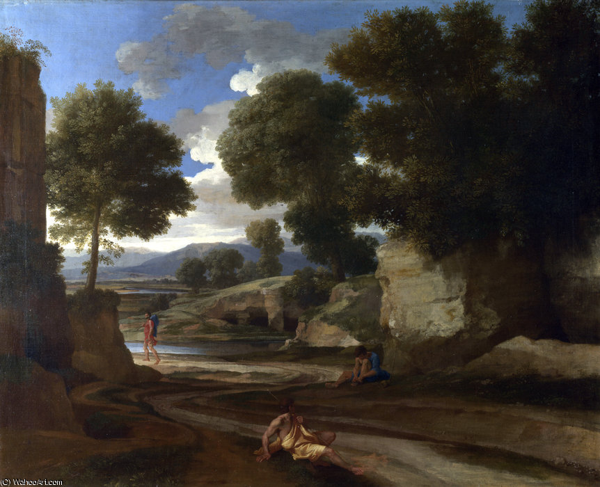Landscape with galatea, acis and polyphemus, after 1613