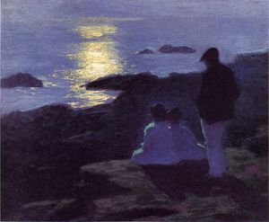 Edward Henry Potthast - summer-s ночь