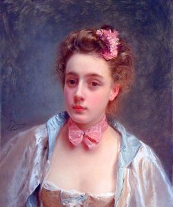 Gustave Jean Jacquet - Одетый за мяч