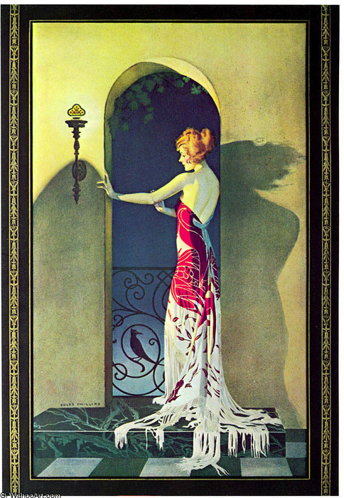 Без названия (153) по Coles Phillips (1880-1927, United States) | Репродукции Музея | ArtsDot.com
