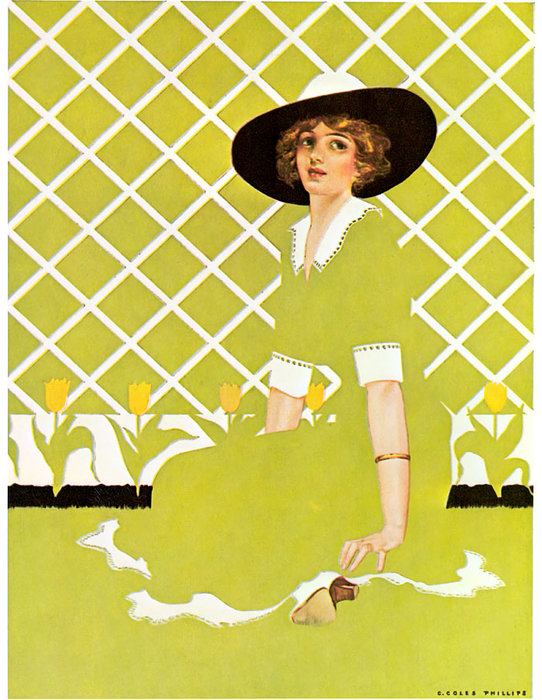 Без названия (142) по Coles Phillips (1880-1927, United States)