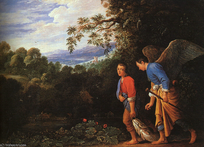 Follwer из), 1600 по Adam Elsheimer (1578-1610, Germany)