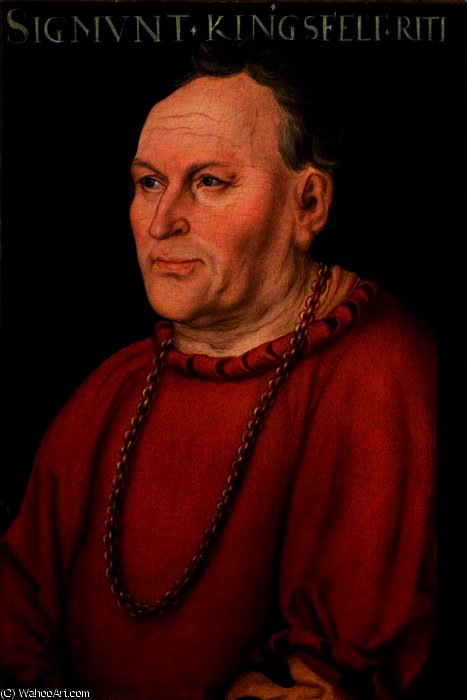 Зигмунд kingsfelt по Lucas Cranach The Elder (1472-1553, Germany)
