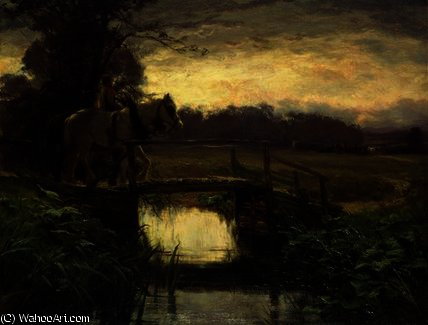 серый Доброе утро  по David Farquharson (1839-1907, United Kingdom) | ArtsDot.com