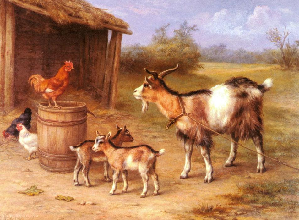 сделают коза с козлятами веретенникова картинки цветы охотно разводят