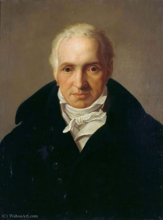 Портрет пейзаж художник janus genelli по Friedrich Bury (1763-1823, Germany)