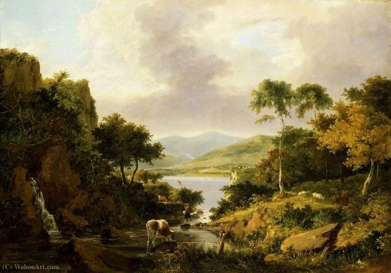 Лох Этив, Argyllshire по George Vincent (1796-1831, United Kingdom)