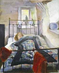 Sydney William Carline - the eiderdown