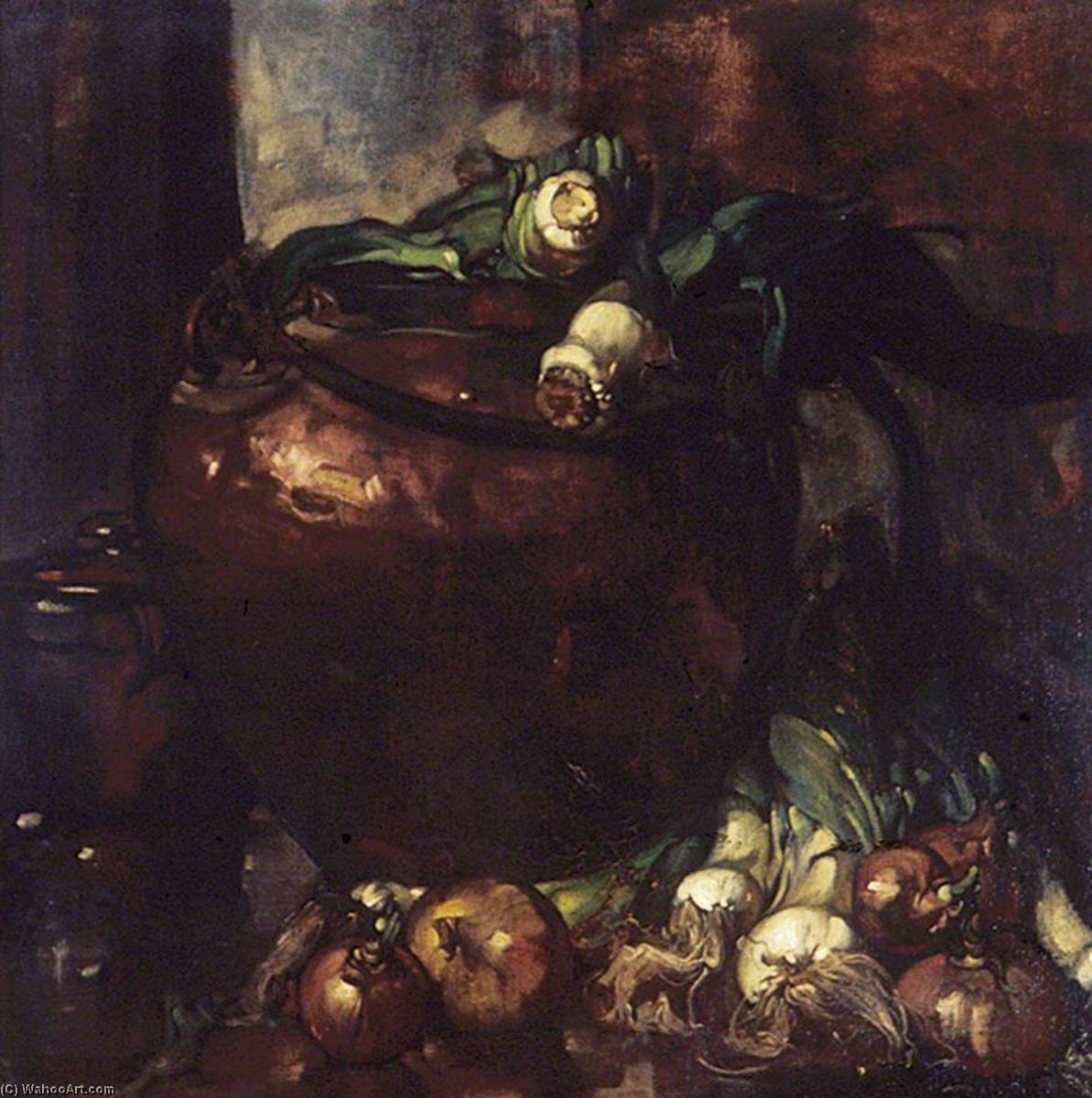Порей, 1902 по Frank William Brangwyn (1867-1956, Belgium) | Репродукции Музея | ArtsDot.com