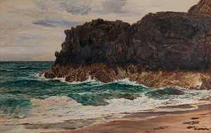 Frederick William Hayes - Маяк Рок , Llanddwyn