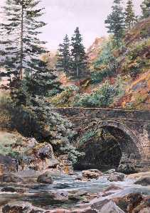 Frederick William Hayes - Понт Aberglaslyn