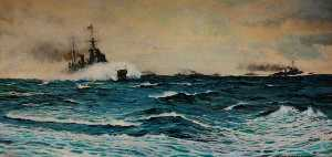 Rowland Langmaid - HMS -Manchester- и другие Cruisers , 1943