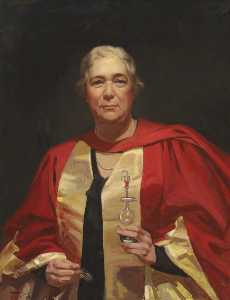 Alice Mary Burton - Профессор Уинифред Куллис ( 1875–1956 )