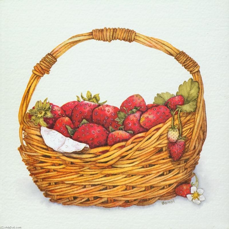 был убит корзина с ягодами рисунок который использовала, известный